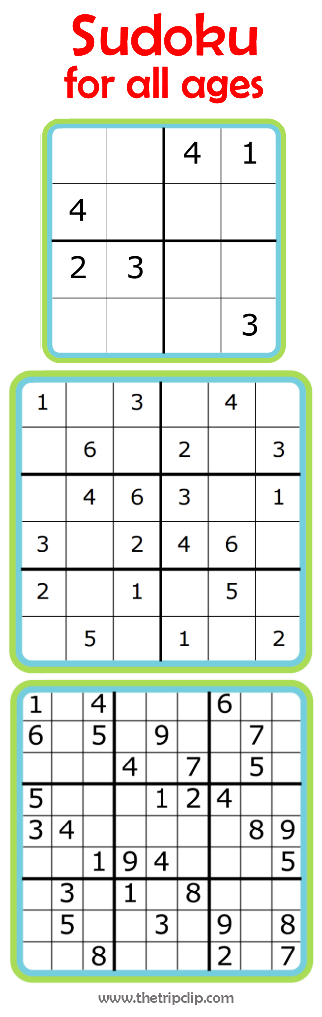 Week 7: Learning Math With Sudoku | 52 Weeks Of Learning With The - Printable Puzzles 4X4