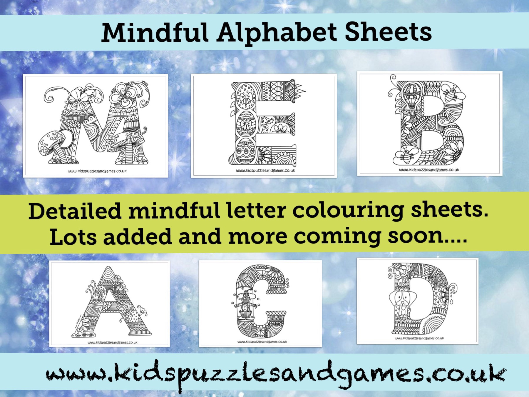 Welcome To Kids Puzzles And Games - Printable Puzzles For 5-7 Year Olds