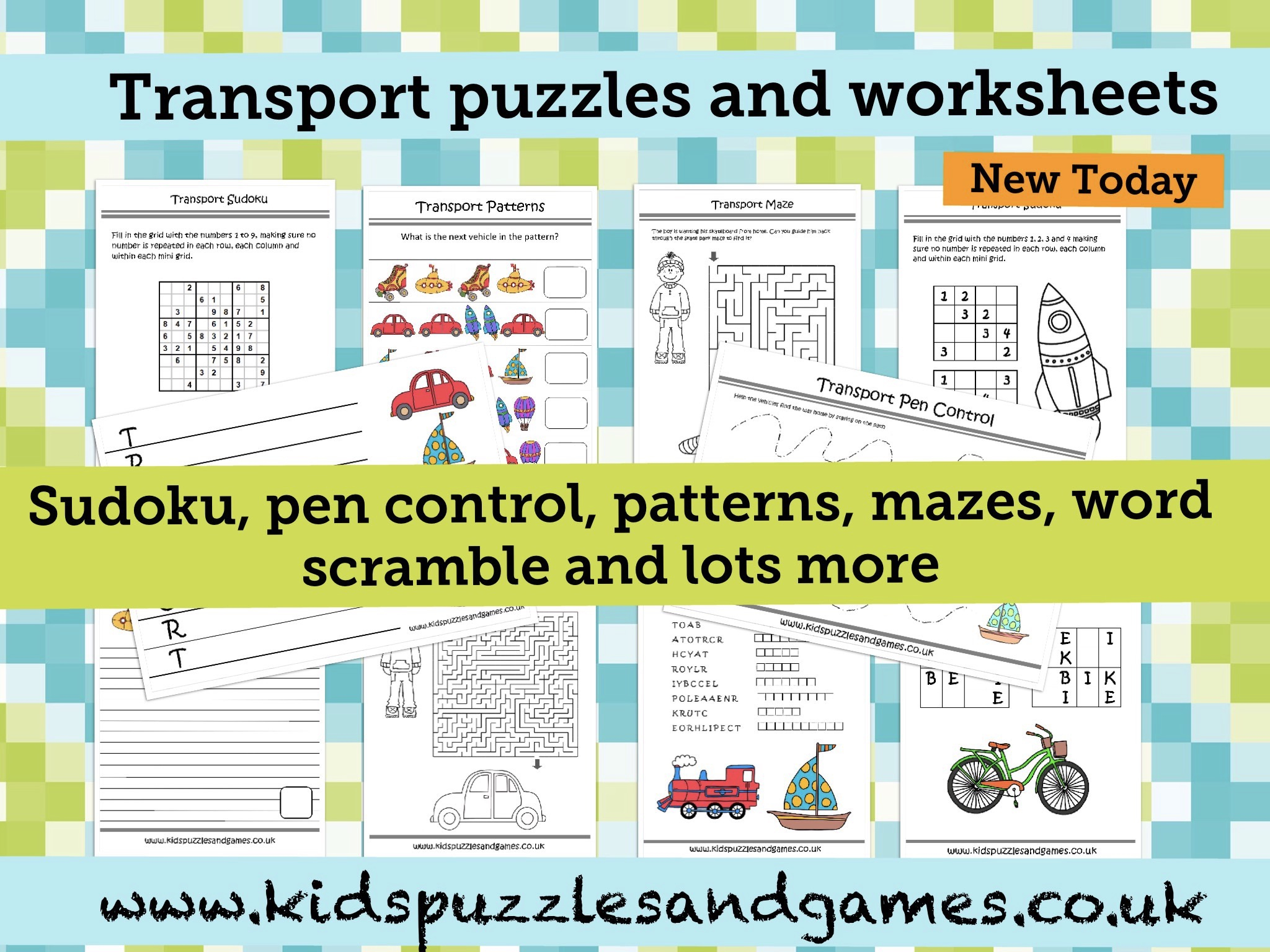 Welcome To Kids Puzzles And Games - Printable Puzzles Uk