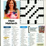 When Write Is Wrong: Down For The Count   Printable People Magazine Crossword Puzzles