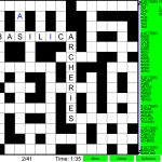 Word Fit Puzzle   Play Word Fill Ins Online   Printable Crossword Metro