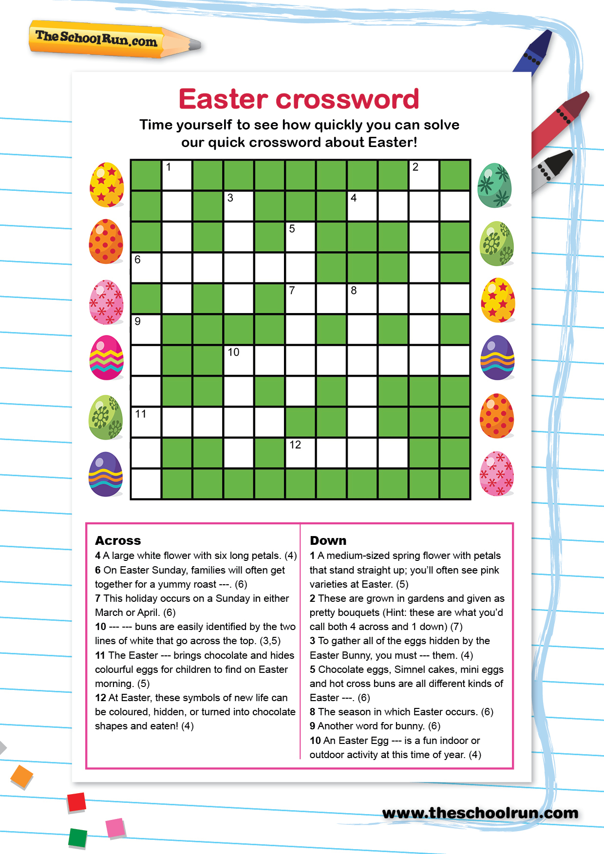 Word Puzzles For Primary School Children | Theschoolrun - Printable Children's Crossword Puzzles Uk