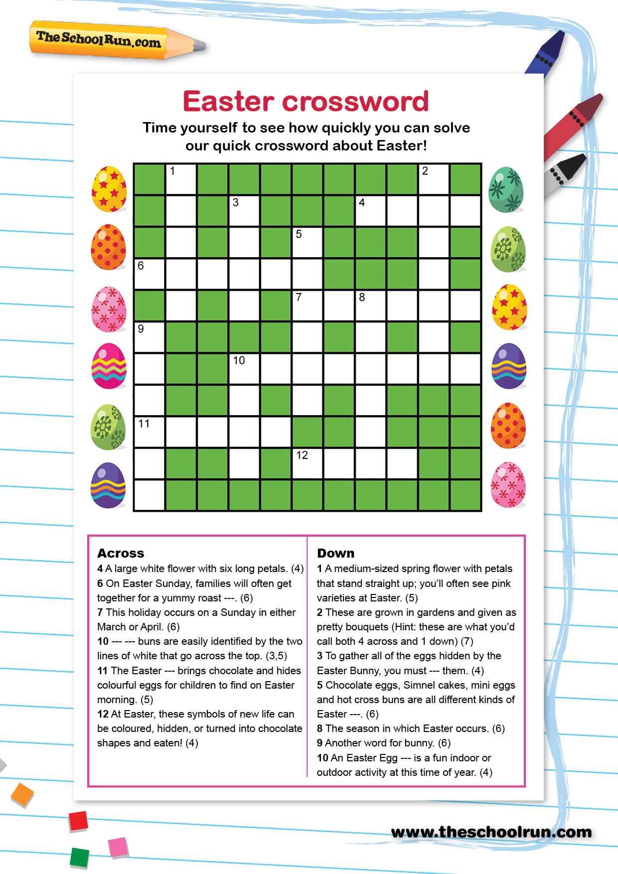 Word Puzzles For Primary School Children | Theschoolrun - Printable Puzzles Ks1