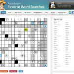 Word Puzzles | Portfolio Categories | Puzzle Baron   Printable Drop Quote Puzzles