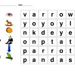 Word Search For Kindergarten Printable | Free Words Worksheets For   Printable Free Puzzle Games