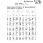 Word Search Worksheet Clean | K5 Worksheets | Printable Puzzles   Printable Puzzle Worksheets