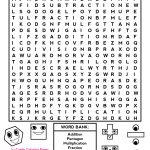 Word Searches Such As This One Will Help The Students Get More   Worksheet Word Puzzle