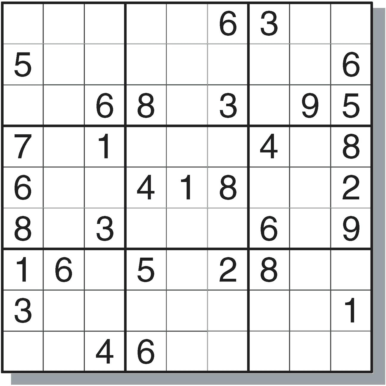 Worksheet : Easy Sudoku Puzzles Printable Flvipymy Screenshoot On - Printable Sudoku Puzzles Easy #1