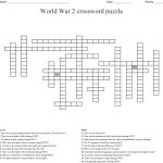 World War 2 Crossword Puzzle Crossword   Wordmint   Wwii Crossword Puzzle Printable