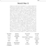 World War Ii Word Search   Wordmint   Wwii Crossword Puzzle Printable